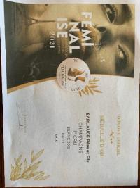 Concours Mondial des Féminalise 2021 : Champagne Brut Millésimé