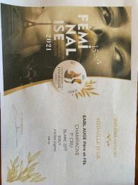 Concours Mondial des Féminalise 2021 : Champagne Vieilles Vignes