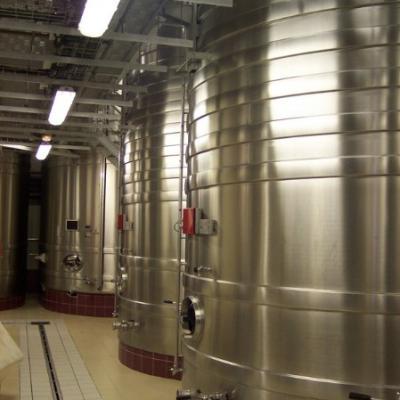 Cuve de vinification-Inox Coopérative de Coulommes